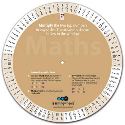Maths Multiplication and Division Wheel To Help Maths Beginners Up to Their 12 Times Tables by A.W. Craig, W.M. Craig
