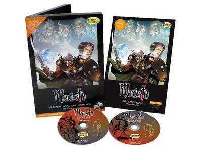 Macbeth Graphic Novel Audio Collection Original Text Book and Audio CD Bundle by William Shakespeare