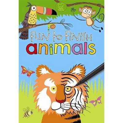 Fun to Finish Animals by Buster Books