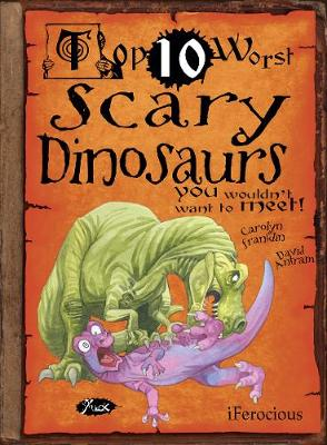 Scary Dinosaurs by Carolyn Franklin