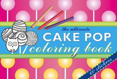 Cake Pop Colouring Book by Chez Picthall
