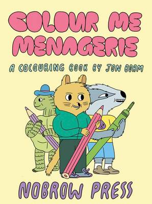 Colour Me Menagerie by Jon Boam