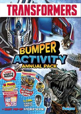 Transformers Activity Annual Bumper Pack by