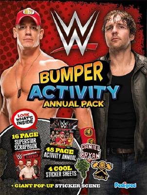 WWE Activity Annual Bumper Pack by