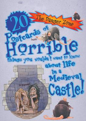 20 Postcards of Horrible Things You Wouldn't Want to Know About Life in a Medieval Castle by David Antram