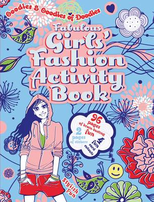 Fabulous Girls' Fashion Activity Book by Victoria England