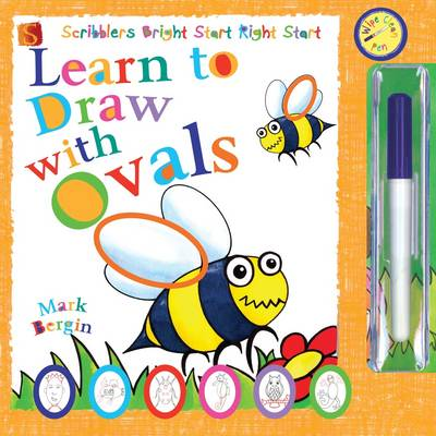 Learn to Draw with Ovals by Mark Bergin