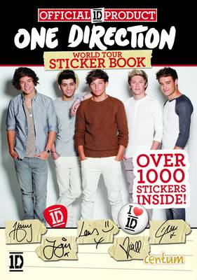 One Direction World Tour Sticker Book by