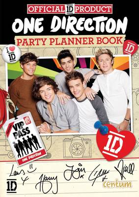 One Direction Party Planner Book by