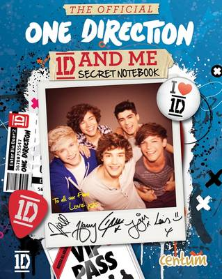 The Official One Direction Secret Notebook by