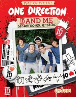 The Official One Direction 1D and Me Secret School Notebook by