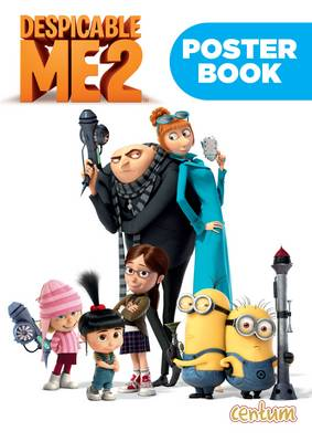 Despicable Me 2 Poster Book by
