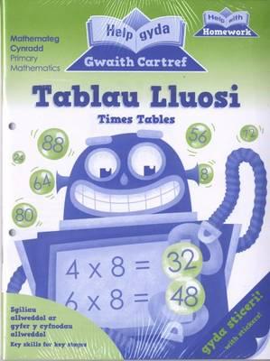 Help Gyda Gwaith Cartref - Pecyn Rhifedd CA2 / Help with Homework - Numeracy Pack KS2 by