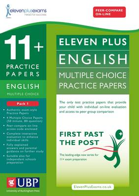 11+ English Multiple Choice Practice Papers by Eleven Plus Exams, Educational Experts