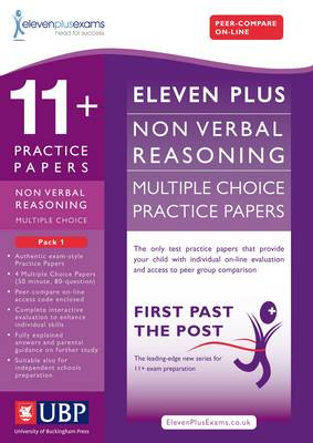 11+ Non-Verbal Multiple Choice Practice Papers by Eleven Plus Exams, Educational Experts