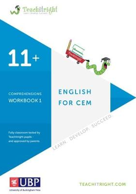 Verbal Ability for Cem 11 +: Comprehension Tests Workbook (Teachitright) by Teachitright