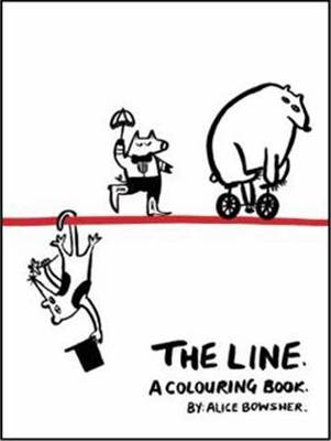 The Line A Colouring Book by Alice Meriwether Bowsher