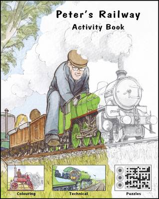 Peter's Railway Activity Book by Christopher G. C. Vine