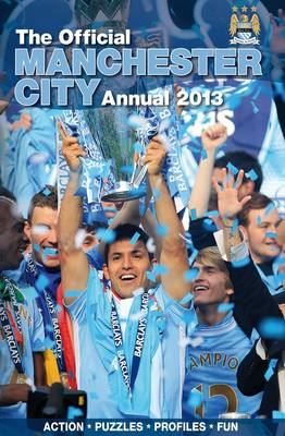 Official Manchester City FC Annual by Grange Communications Ltd