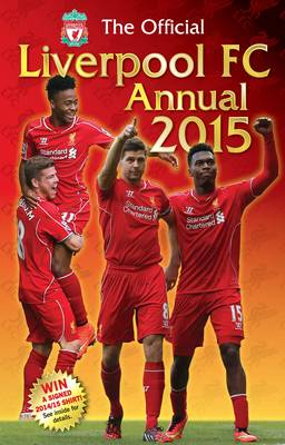 Official Liverpool FC 2015 Annual by