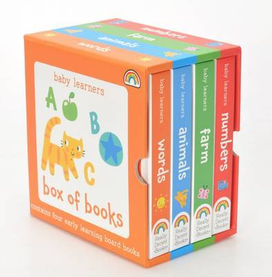 Baby Learners - Box of Books by Philip Dauncey