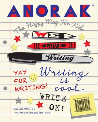 Anorak Writing by Cathy Olmedillas