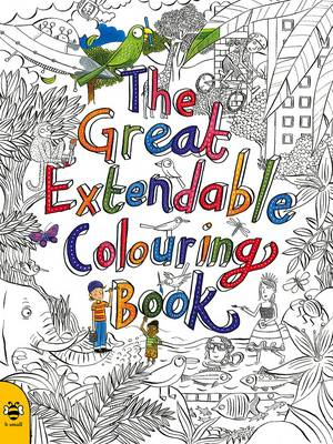 The Great Extendable Colouring Book by Stu McLellan