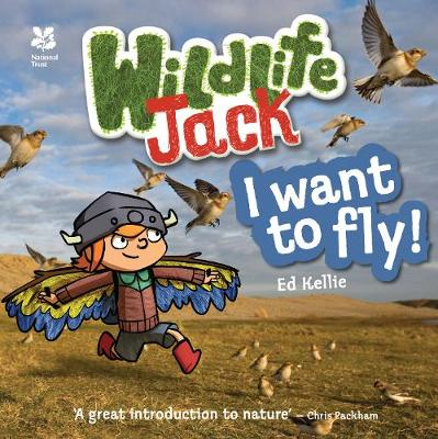 Wildlife Jack I Want to Fly by Ed Kellie