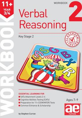11+ Verbal Reasoning Year 3/4 Workbook 2 by Stephen C. Curran, Christine R. Draper