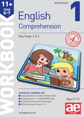 11+ English Comprehension Workbook 1 by Stephen C. Curran