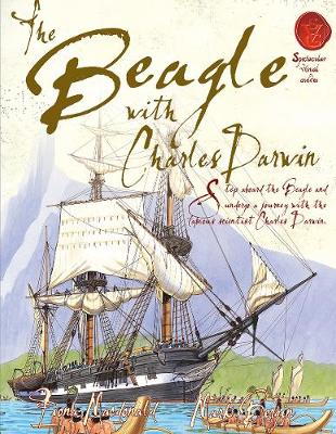 The Beagle with Charles Darwin by Fiona MacDonald
