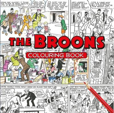 The Broons Colouring Book by The Broons