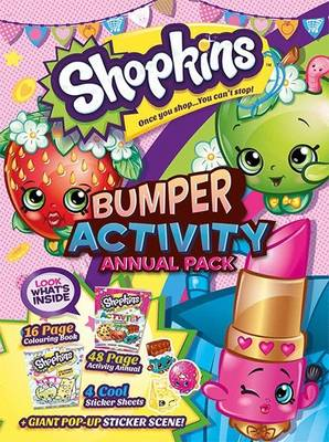 Shopkins Activity Annual Bumper Pack by