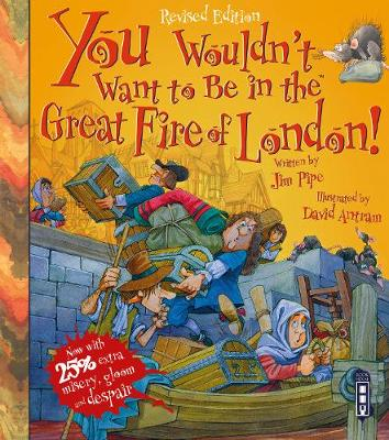 You Wouldn't Want to be in the Great Fire of London by Jim Pipe