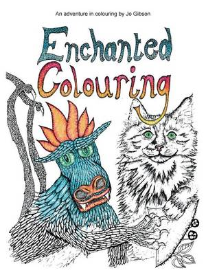 Enchanted Colouring by Jo Gibson