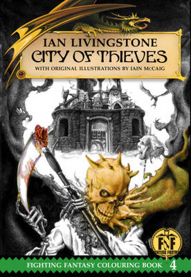City of Thieves Colouring Book by Ian Livingstone