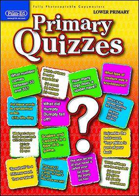 Primary Quizzes Lower (ages 5-7) by