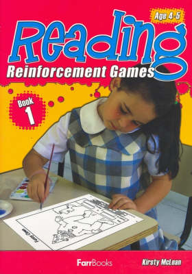 Reading Reinforcement Games Book 1 by Kristy McLean
