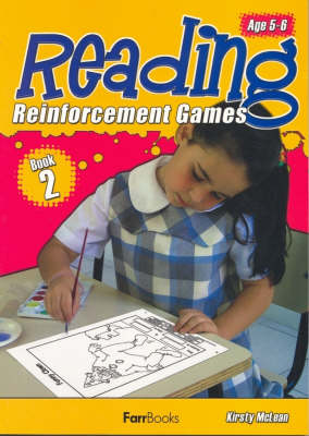 Reading Reinforcement Games Book 2 by Kristy McLean