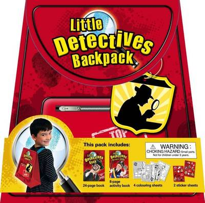 Little Detectives Backpack by Alicat