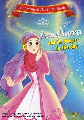 Princess Noura and the Monster in the Sky Activity Book by Gator Ali