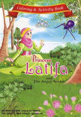 Princess Latifa and the Angry Spider Activity Book by Gator Ali