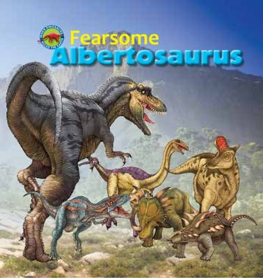 Fearsome Albertosaurus by Tortoise Dreaming