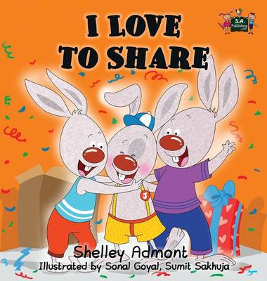 I Love to Share by Shelley Admont