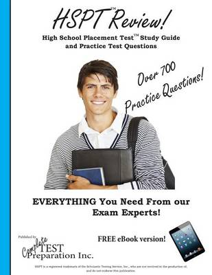 HSPT Review! High School Placement Test Study Guide and Practice Test Questions by Complete Test Preparation Inc