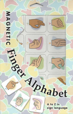 Magnetic Finger Alphabet A to Z in Sign Language by Stanley Collins