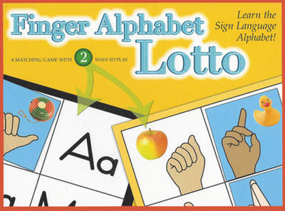 Finger Alphabet Lotto by Stan Collins