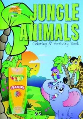 Jungle Animals Coloring and Activity Book by Beverly Zimmerman, Vision Publishers