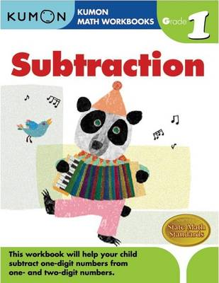 Subtraction Grade 1 by Michiko Tachimoto