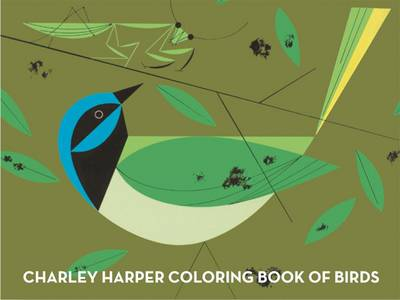 Charley Harper Birds & Words Deluxe Coloring Book by Charley Harper